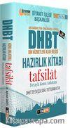 2020 DHBT Tafsilat Konu Anlatımlı Hazırlık Kitabı