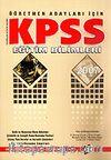 KPSS Eğitim Bilimleri 2007 / Öğretmen Adayları İçin