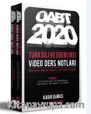 2020 KPSS ÖABT Türk Dili ve Edebiyatı Öğretmenliği Modüler Video Ders Notları Seti