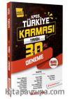 2020 KPSS Tarih 30 Deneme Türkiye Karması (Tamamı Çözümlü)