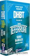 2020 DHBT Teferruat Serisi Çözümlü Soru Bankası