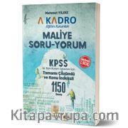 KPSS Tamamı Çözümlü 1150 Soru Maliye Soru-Yorum