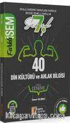 2020 Farklı İsem 7. Sınıf Din Kültürü ve Ahlak Bilgisi Tamamı Çözümlü 40 Fasikül Deneme