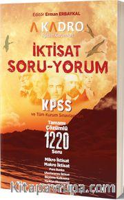 KPSS İktisat Soru-Yorum Tamamı Çözümlü 1220 Soru