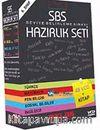 SBS-1 Liselere Giriş Eğitim VCD Seti 8.Sınıf Tam Set - 49 VCD + Kitap