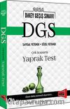 2016 DGS Sayısal Yetenek - Sözel Yetenek Çek Kopartlı Yaprak Test
