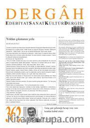 Dergah Edebiyat Sanat Kültür Dergisi Sayı:362 Nisan 2020