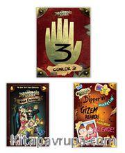 Disney  Esrarengiz Kasaba En Favori Kitaplar Seti (3 Kitap)