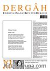 Dergah Edebiyat Sanat Kültür Dergisi Sayı:363 Mayıs 2020