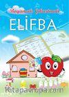 Boyamalı Çıkartmalarla Elifba