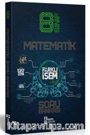 2021 Farklı İsem LGS 8. Sınıf Matematik Soru Bankası