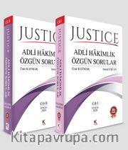 Justıce  Adli Hakimlik Özgün Sorular (2 Cilt)