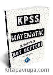 2021 KPSS Matematik Problemler Konu Anlatımı Defteri