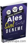 2021 ALES 5x50 Deneme Tamamı Çözümlü Sözel Deneme Sınavı