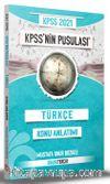 2021 KPSS'nin Pusulası Türkçe Konu Anlatımı