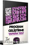 2021 Kpss Eğitim Bilimleri Program Geliştirme Çek Kopart Yaprak Test