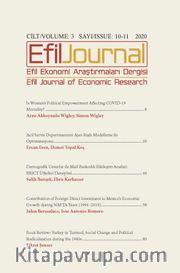 Efil Ekonomi Araştırmaları Dergisi Cilt: 3 Sayı: 10-11