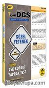 2021 DGS Türkçe Sözel Yetenek Çek Kopart Yaprak Test