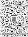 2021 Haftalık Ajanda Kanta (3084)