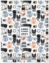 2021 Haftalık Ajanda Fat Cats (3086)