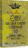 2016 ÖABT Muallim Türk Dili ve Edebiyatı Öğretmenliği Tamamı Çözümlü 10 Deneme Sınavı