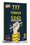 2021 TYT Türkçe 5x40 Motivasyon Deneme Sınavı