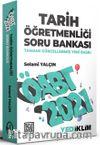 2021 ÖABT Tarih Öğretmenliği Soru Bankası