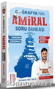 2021 KPSS Tamamı Çözümlü Amiral Coğrafya Soru Bankası