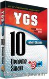 YGS 10 Deneme Sınavı Tamamı Çözümlü