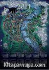 2021 Takvimli Poster - Minyaturler - Nusret Colpan Koln