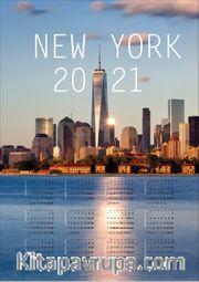 2021 Takvimli Poster - Şehirler - New York