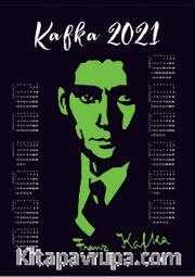 2021 Takvimli Poster - Yazarlar - Franz Kafka