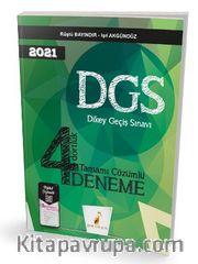 2021 DGS 4 Dörtlük Tamamı Dijital Çözümlü Deneme Sınavı