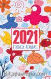 2021 Akademik Ajanda - Neşeli Hayvanlar