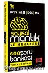 2021 KPSS ALES DGS YKS Sayısal Mantık ve Muhakeme Tamamı Çözümlü 600 Soru Bankası