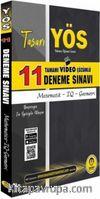 YÖS Tamamı Video Çözümlü 11 Deneme Sınavı