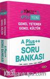 KPSS Genel Yetenek Genel Kültür A Plus ++ Soru Bankası