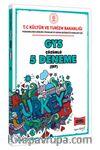 GYS T.C. Kültür ve Turizm Bakanlığı Şef İçin Çözümlü 5 Deneme