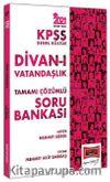 2021 KPSS Divan-ı Vatandaşlık Soru Bankası Çözümlü