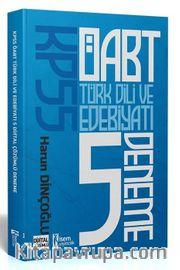 2021 KPSS ÖABT Türk Dili ve Edebiyatı Öğretmenliği Tamamı Çözümlü 5 Deneme