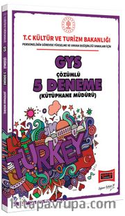 GYS T.C. Kültür ve Turizm Bakanlığı Kütüphane Müdürü İçin Çözümlü 5 Deneme