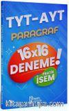 2021 TYT AYT Pratik İsem Kazandıran Paragraf 16x16 Deneme