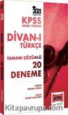2021 KPSS Genel Yetenek Divanı Türkçe Tamamı Çözümlü 20 Deneme
