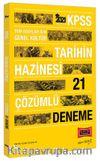 2021 KPSS Genel Kültür Tarihin Hazinesi Çözümlü 21 Deneme
