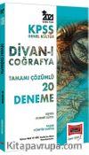 KPSS Genel Kültür Divanı Coğrafya Tamamı Çözümlü 20 Deneme