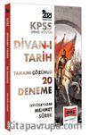 2021 KPSS Genel Kültür Divanı Tarih Tamamı Çözümlü 20 Deneme