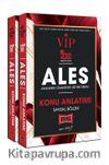 2022 ALES VIP Sayısal ve Sözel Konu Anlatımı Seti ( 2 Kitap)