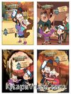Disney - Esrarengiz Kasaba Süper Paket Seti (4 Kitap)
