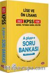 2022 KPSS Lise ve Ön Lisans A Plus++ Soru Bankası