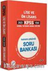 2022 Lise ve Ön Lisans Tamamı Çözümlü Soru Bankası